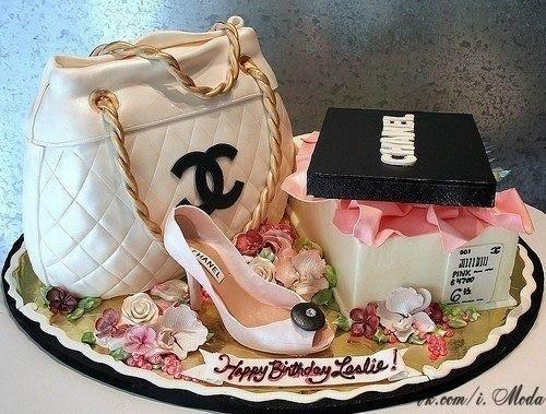 Chanel Cake...Lovely Birthday Gift idea!