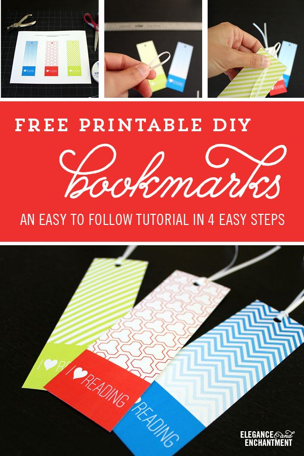 An easy tutorial on creating bookmarks that make reading for Cool ways to make bookmarks