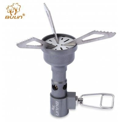 Share and Get It FREE Now | Join Gearbest |   Get YOUR FREE GB Points and Enjoy over 100,000 Top Products,BULin Mini Hiking Camping Portable Titanium Alloy Stove
