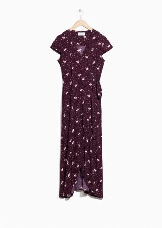 & Other Stories | Glory Bower Print Wrap Dress