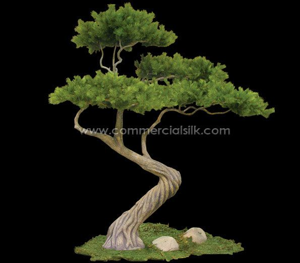 Artificial bonsai tree that you can pick the size. Thinking a 8' one for my relaxation room!