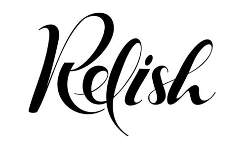 Typeverything.com - Lettering for Relish label by Andy J Martin.