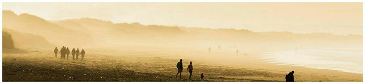 Redcar Beach in the Mist