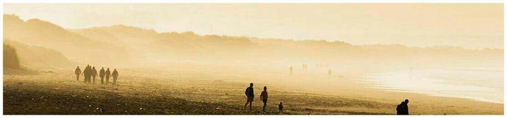 Redcar Beach in the Mist