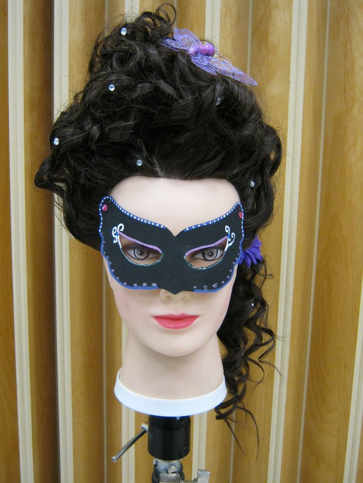 9 Best Masquerade Hairstyles Images On Pinterest Wedding
