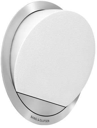 Bang and Olufsen White BeoVox 2 Loudspeaker - 1630425C******Two-way Speaker Construction/ Customized Driver Units/ Surrounding Wall Is Used As An Acoustical Chamber/ Passive Speaker/ No Built-in Power Amplifiers/ 60-20 000 Hz Effective Frequency Range/ 5