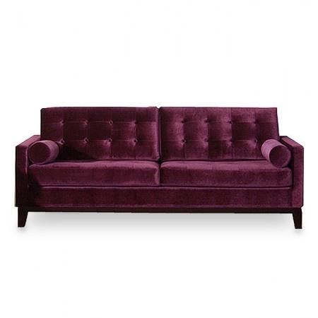 purple velvet | Upholsterly.com