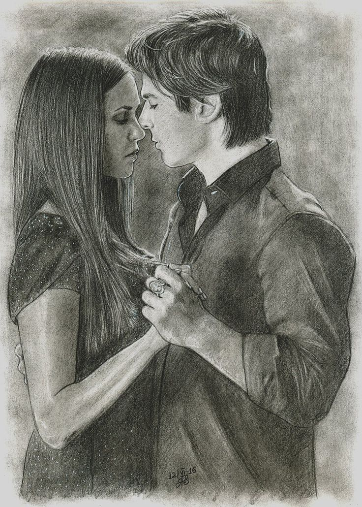 22 best vampire diaries drawing ideas images on pinterest - Vampire diaries dessin ...