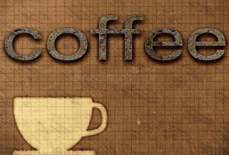 Download Coffee poster stock illustration. Image of chocolate - 105496362