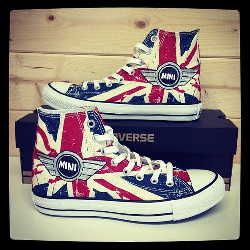Mini Converse Shoes