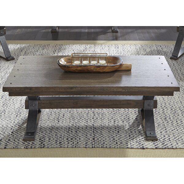 Pyburn Trestle Coffee Table Furniture Liberty Furniture Table