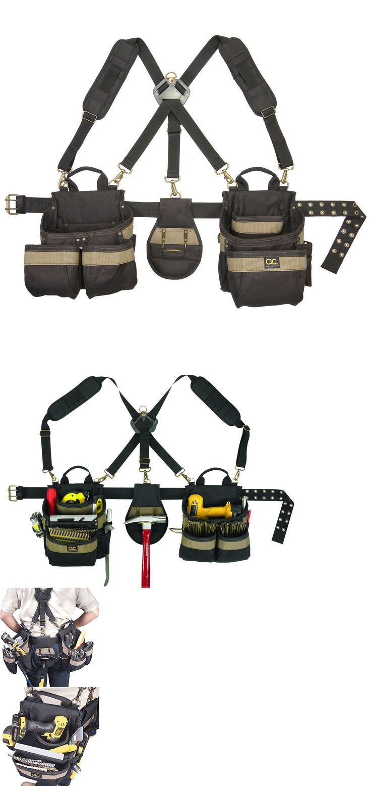 Bags Belts and Pouches 42362: Carpenter Contractor Construction Electrician Tool Belt Pouch Storage Pocket Bag -> BUY IT NOW ONLY: $59.99 on eBay!