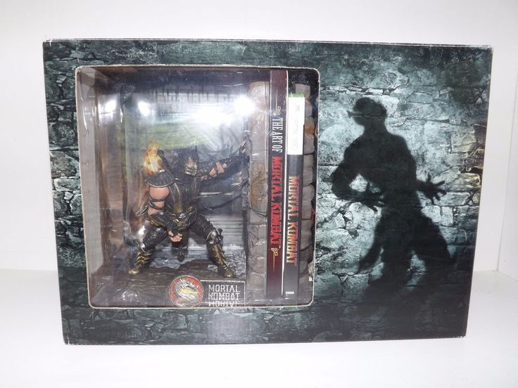 Mortal Kombat Kollector's Edition (Xbox 360) Scorpion Sub-Zero Bookends
