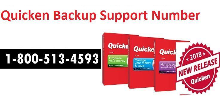Quicken software backup support number 1-800-513-4593, get complete