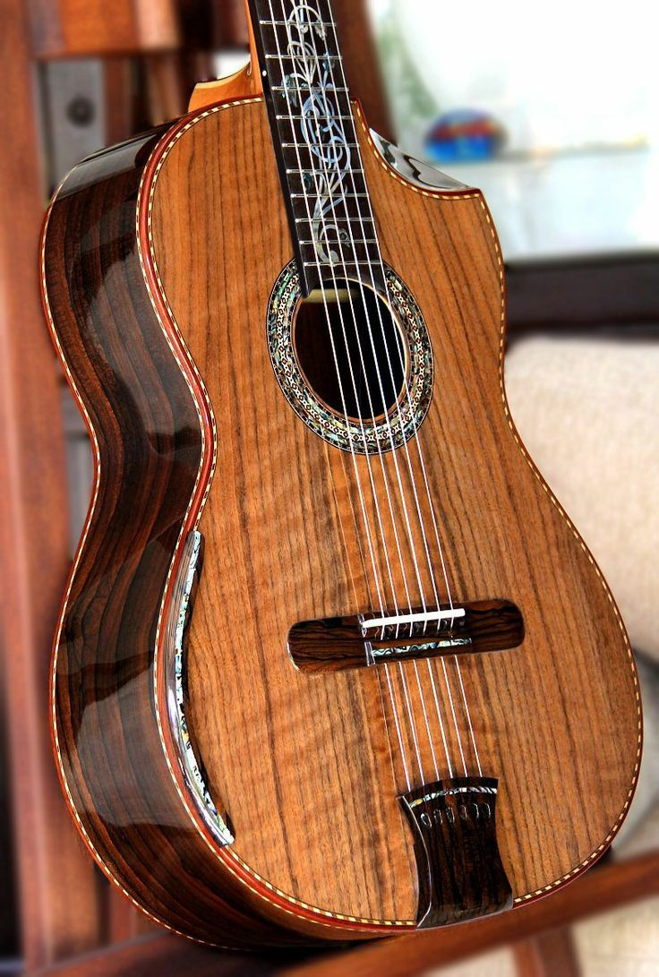 Belluci Classical Guitar. Ziricote back and sides, Curly Sinker Redwood top Concert Model.