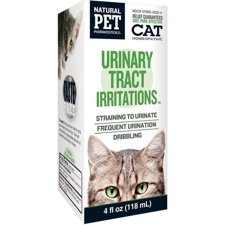 Natural pet urinary tract irritations cat supplement