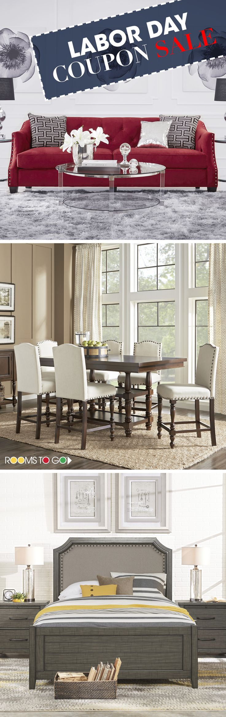 Ready For A Room Redesign Shop Our Labor Day Coupon Sale Now And Save On Furniture The Bedroom Living Dining