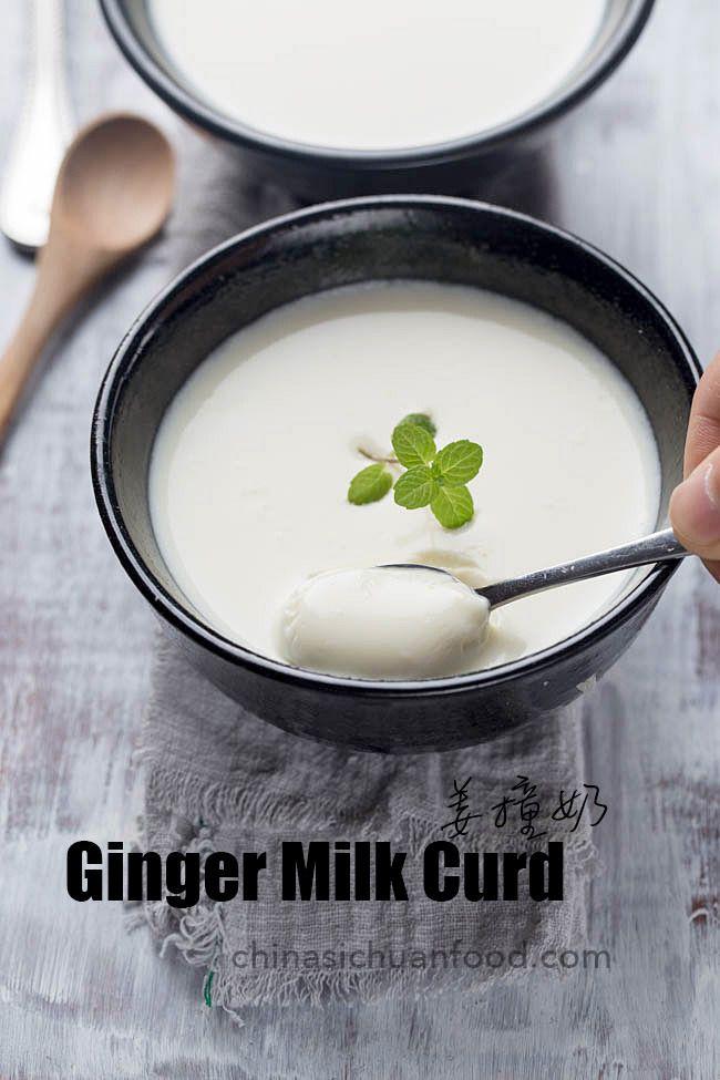 Ginger Milk Curd