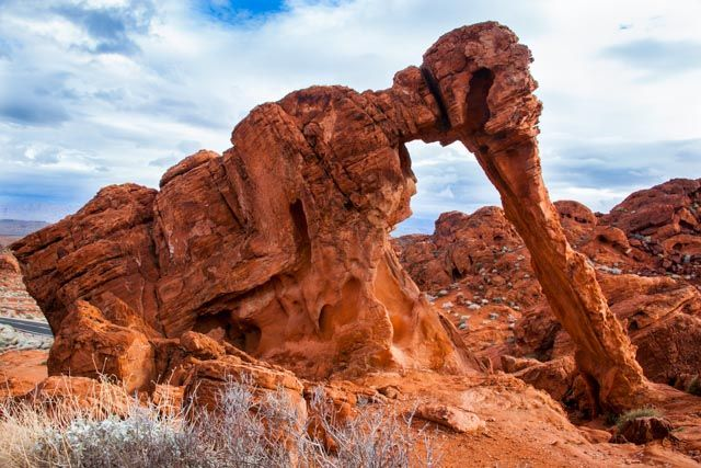 Elephant Rock — Valley of Fire State Park, NV