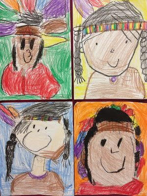 Mrs. Ayala's Kinder Fun: November in Kinder Fun-Native American Drawings   LIKE OUR PAGE! :D  http://www.facebook.com/pages/Kinder-Fun/188350544541943