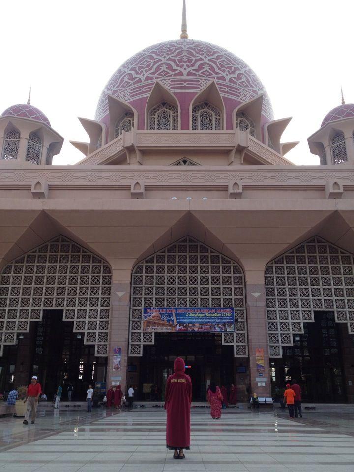 Masjid Putra (Putra Mosque) in Putrajaya, WP Putrajaya