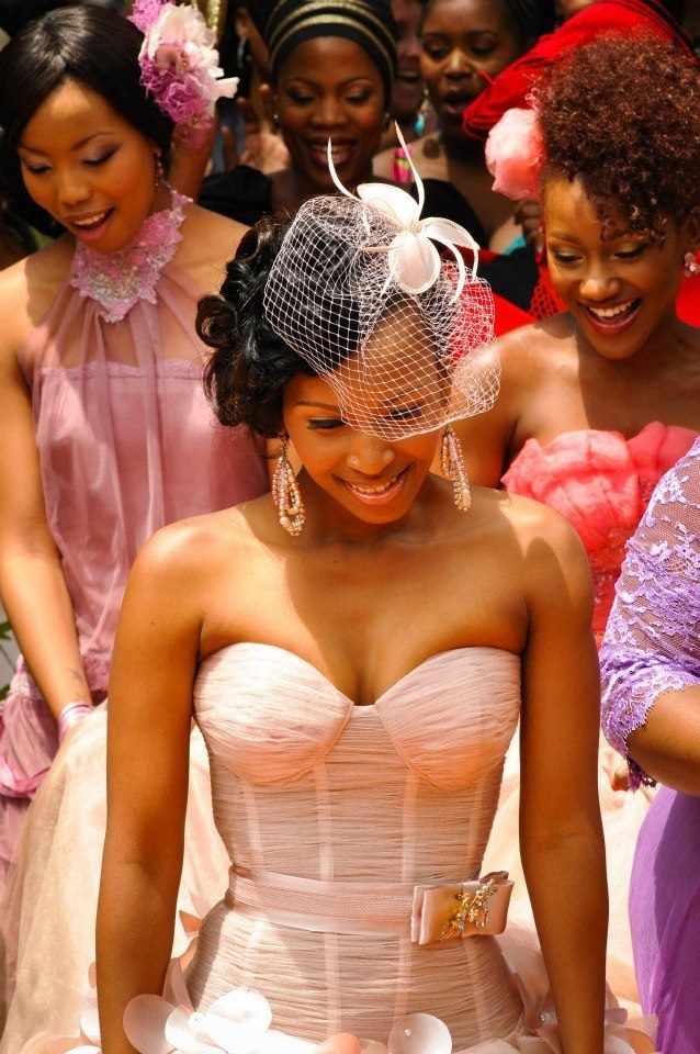 South African Bridesmaids Hairstyles