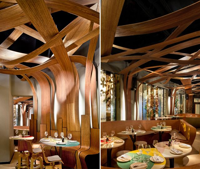 Ikibana Paral·lel Restaurant by elequipocreativo (Barcelona, Spain)