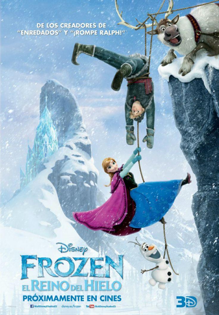 """Frozen, el reino del hielo. Estreno del 29 de noviembre en Yelmo Cines Meridiano. En """"Frozen"""", una profecía condena a un reino a un invierno eterno. Así que Anna se ve obligada a unirse a Kristoff, un audaz hombre de las montañas, y emprender un viaje épico en busca de la Reina de la Nieve para poner fin al gélido hechizo."""