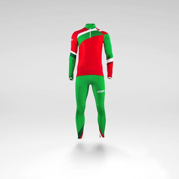 Biatlon racing suit design for Atex sportswear. Belarus team