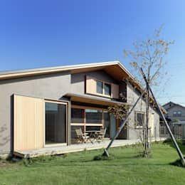 外観: 磯村建築設計事務所が手掛けた家です。