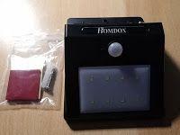 Produkttests und mehr: Homdox 8 Helle LED Solarleuchte Solar Wandlampe Wa...