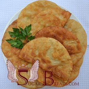 Κιμαδοπιτακια τηγανίτα ( επιλογή 2 )   Sugar & Breads in Greece
