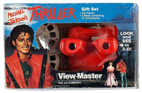 Michael Jackson's Thriller View-Master Gift Set, 1984 | por Tom Simpson
