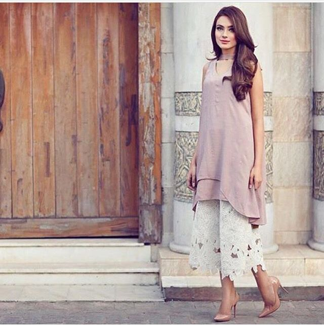 Gorgeous cut work culottes by remaluxe!