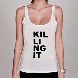 Débardeur Femme Killing it dispo sur www.a-tshop.com http://a-tshop.com/debardeur/145-debardeur-femme-killing-it.html