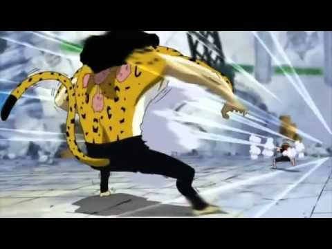 The finally of the Luffy Vs Lucci fight from One Piece