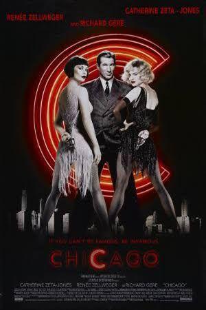 Chicago est comédie musicale américaine réalisée par Rob Marshall et sortie en 2002 par Miramax Films (une filiale de Disney).  Écrit par Bill Condon, ce film est une adaptation de la comédie musicale éponyme de Bob Fosse, John Kander et Fred Ebb.  Très bien reçu par la presse1 et les spectateurs2 à sa sortie, le film atteint la consécration en 2003 en étant récompensé aux Oscars, notamment par celui du Meilleur film.