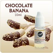 Our Chocolate Banana Flavored E-liquid is smooth and creamy with a satisfying taste, just like a chocolate covered banana.