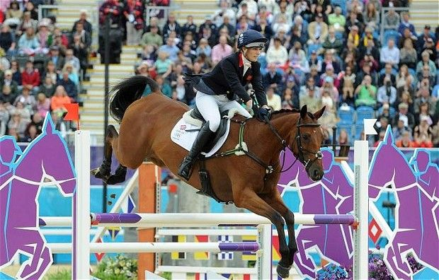 The British equestrian team, which includes Queen Elizabeth's granddaughter Zara Phillips, took a silver medal at the Olympics. (via Telegraph; photo via PA)