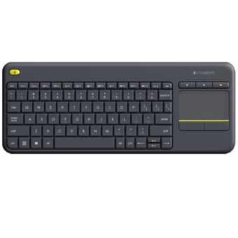 Buy Logitech K400 Plus Wireless Touch Keyboard (Black) online at Lazada Singapore. Discount prices and promotional sale on all Basic. Free Shipping.