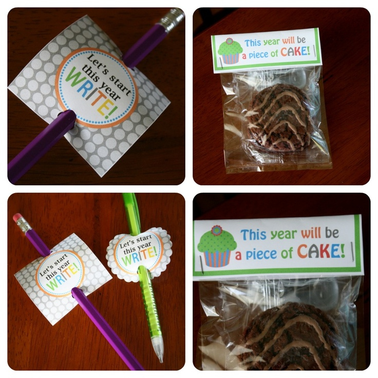 Printable back to school gift ideas