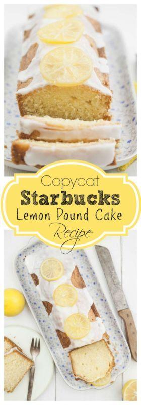 Starbucks Lemon Pound Cake Recipe Sour Cream