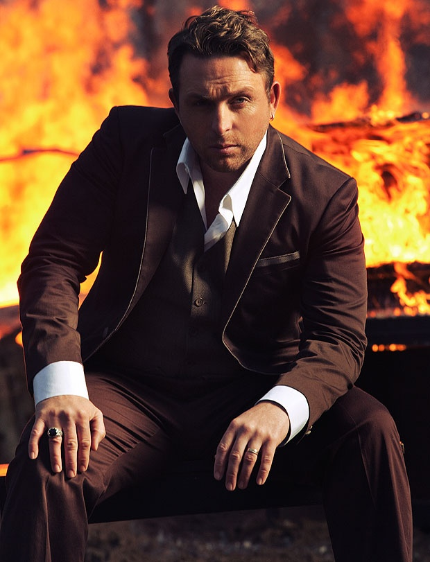 Johnny Reid, he is simply adorable!