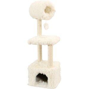 Arbre à chat YETI REX hauteur 1,2 m blanc