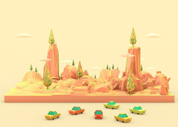 Illustrations 12/14 by Robinsson Cravents, via Behance