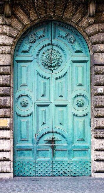 Rome, Italy ~ Beautiful Doors