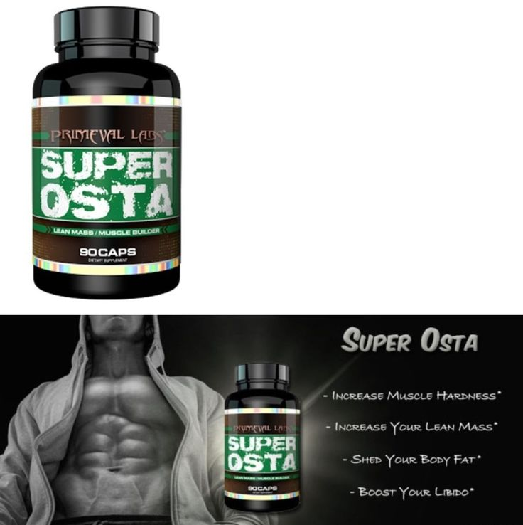Protein Shakes and Bodybuilding: Primeval Labs Super-Osta Supplement (Bodybuilding, Protein, Creatine, Nutrition) BUY IT NOW ONLY: $44.95