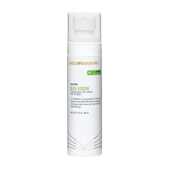 Goldfaden MD Sun Visor SPF 30 Mist - Shield skin against the harmful effects of UVA and UVB rays with this fragrance-free mist that can be applied over makeup