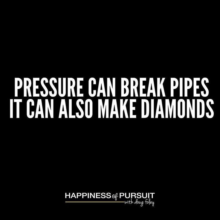Pressure can break pipes. It can also make diamonds. - Robert Horry #motivation #entrepreneur #success #underdog #instadaily #instagood . If you really want to know what you're made of put yourself under pressure and be conscious of your actions. . If you look at some of the world's elite athletes watch how they respond to pressure. . They don't get hyped up don't overreact they simply get to work. . For world champions losing is not an option. They know what has to be done and they execute…