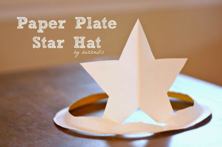 School Holiday Activities - Paper Plate Hats